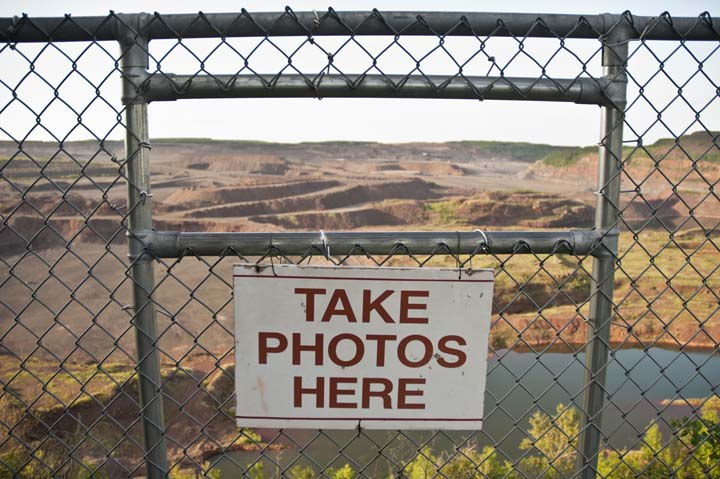 CLUI Photo Archive Master/MN/Hull Rust Mine Overlook Hibbing MN